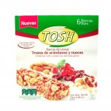 Barras de cereal Tosh arandanos y nueces