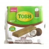 Galleta Wafer Tosh sabor Coco endulzada con stevia 6und