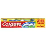 Crema dental Colgate Triple acción 50ml más cepillo mercado a domicilio en cali