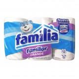 Papel higienico Familia familiar Doble hoja