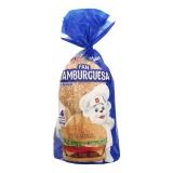 Pan Hamburguesa 4und