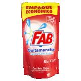 Fab Quitamanchas ropa de color sin cloro