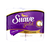 Papel Higienico Suave Gold Triple hoja Soft Care