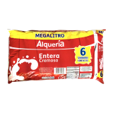 Leche Entera megalitro six pack