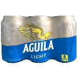 Six pack Cerveza Aguila Light en lata