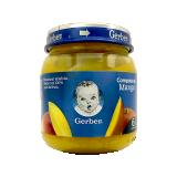 Compota Gerber Mango 100% puré de fruta