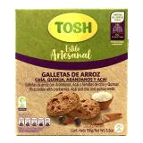 Galletas Tosh Artesanal Arroz-Arándanos