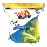 Arepa tela blanca sin sal Doña Rita
