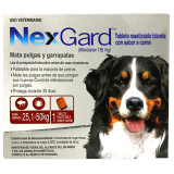 NexGard Tableta masticable para el control de Pulgas y Garrapatas en Perros entre 25,1 a 50kg