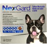 NexGard Tableta masticable para el control de Pulgas y Garrapatas en Perros entre 4,1 a 10kg