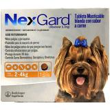 NexGard Tableta masticable para el control de Pulgas y Garrapatas en Perros entre 2 a 4kg