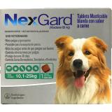 NexGard Tableta Masticable para el control de Pulgas y Garrapatas en Perros entre 10,1 a 25kg