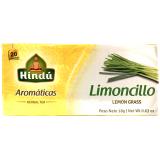 Aromáticas Hindú Limoncillo 20 Bolsitas
