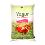 Yogur Colanta Fresa en bolsa