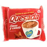 Chocolate Quesada clavos y canela con azúcar