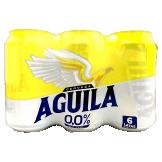 Six pack Cerveza Aguila Cero en lata