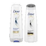 Kit Dove Shampoo Recuperación extrema + Acondicionador Reconstrucción completa