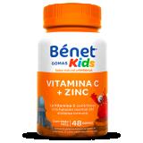 Bénet  gomas Kids de Vitamina C + Zinc sabor Naranja 48gomas