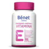 Bénet gomas de Colágeno + Biotina + Vitamina E 60gomas