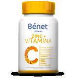 Bénet gomas de Vitamina C + Zinc 60gomas