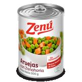 Arvejas con zanahoria Zenú