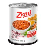 Chile con carne de res Zenú