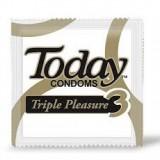 Condón Today Triple Pleasure mercado a domicilio en cali