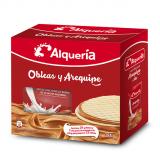 Obleas y Arequipe Alquería 24 galletas + arequipe 240g