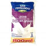 Leche Semidescremada  baja en grasa San Fernando mercado a domicilio en cali