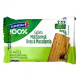 Galletas Multicereal Uvas y Macadamia 50% menos azucar mercado a domicilio en cali