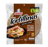 Tortillinas Integrales Bimbo Con Semillas de  Chía y Quinua TM mercado a domicilio en cali