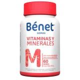 Bénet Gomas Vitaminas y Minerales M sobres surtidos  capsulas mercado a domicilio en cali